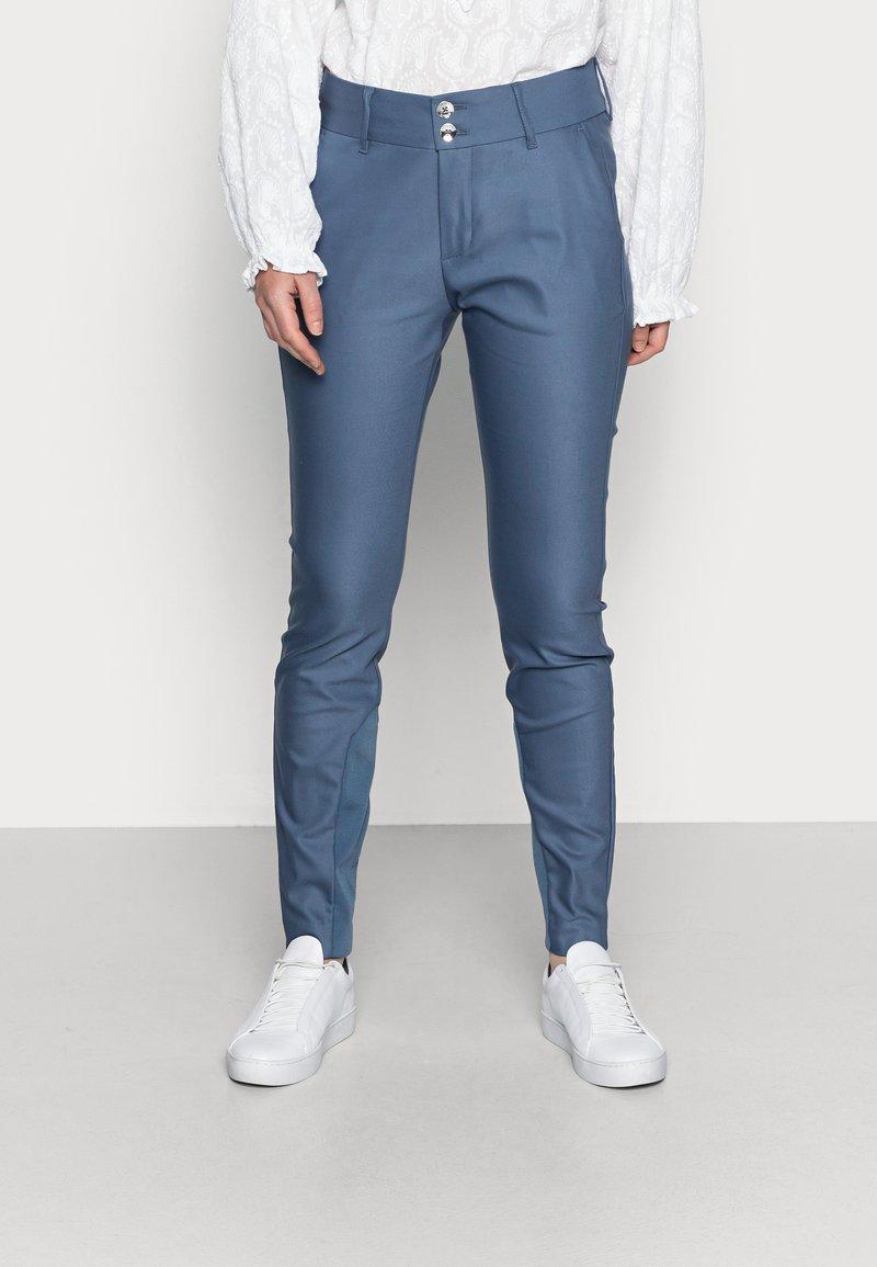 Mos Mosh - BLAKE NIGHT PANT SUSTAINABLE - Kalhoty - indigo blue