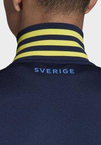 adidas Performance - SVFF SCHWEDEN 3S TRK TOP - Sportovní bunda - night indigo - 7