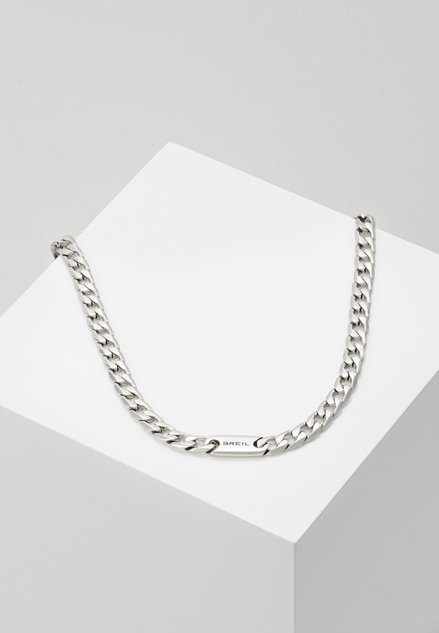 GROOVY NECKLACE - Necklace - silver-coloured
