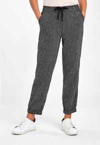 Next - Trousers - mottled black - 0