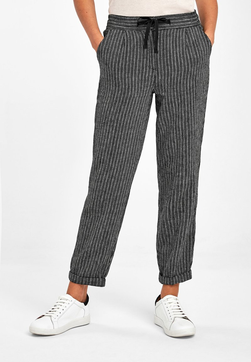 Next - Trousers - mottled black