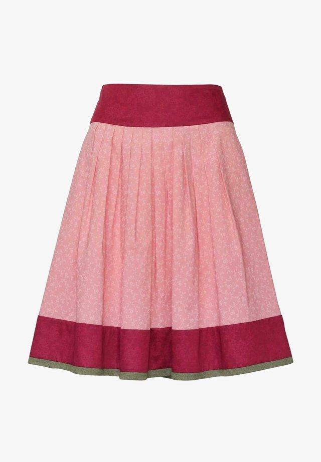 BREGENZ-1-U - A-line skirt - beere/rosa