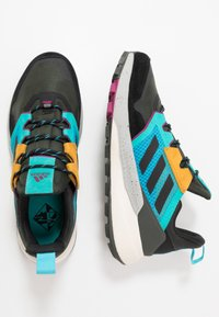 adidas Performance - TERREX TRAILMAKER - Hiking shoes - legend earth/core black - 1