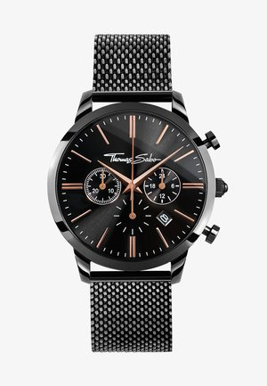 ETERNAL REBEL - Chronograph watch -  schwarz