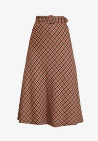Kaffe - KADOLORES SKIRT - A-line skjørt - tiger's eye - 3