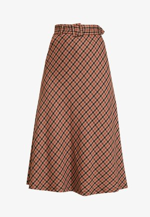 KADOLORES SKIRT - A-linjainen hame - tiger's eye