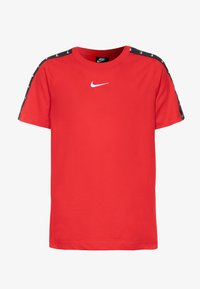 Nike Sportswear - TEE TAPE - Print T-shirt - university red/white - 0