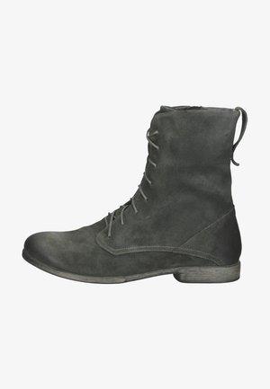 Lace-up ankle boots - elefant