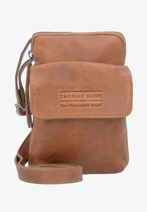 THOMAS HAYO LEDER - Across body bag - cognac