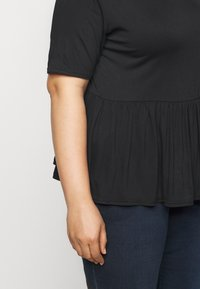 Simply Be - Print T-shirt - black - 4