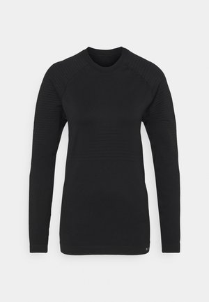 COMPRESSION LONG SLEEVE - Long sleeved top - black