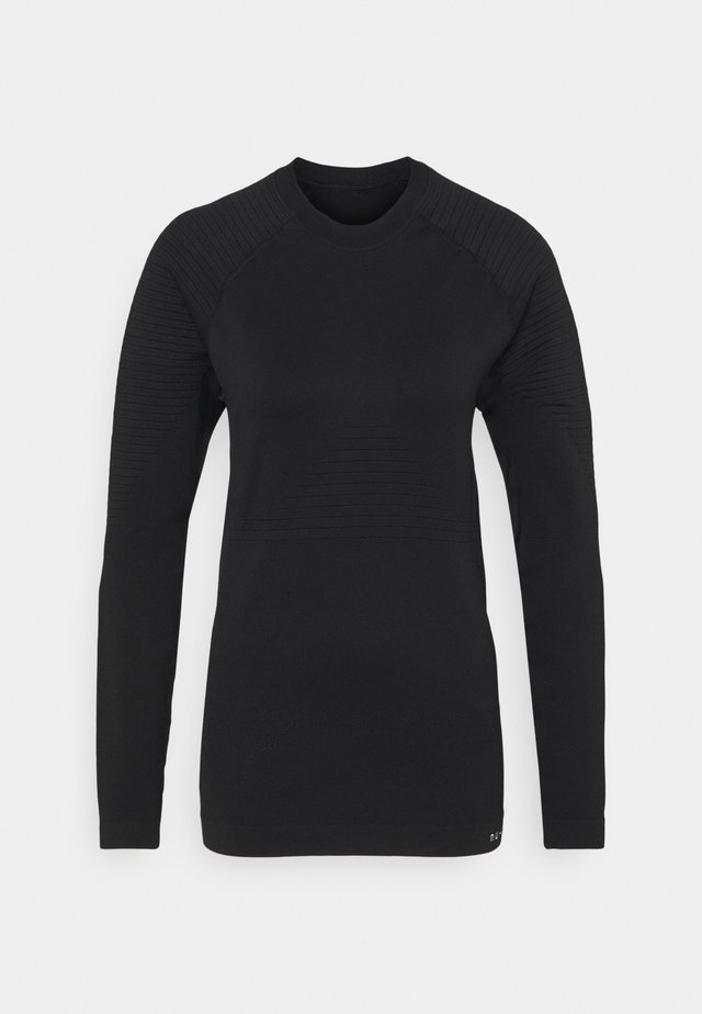 COMPRESSION LONG SLEEVE - T-shirt à manches longues - black