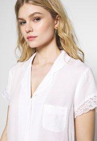 Pour Moi - SPOT MIX REVERE COLLAR - Pyjamasoverdel - white - 3