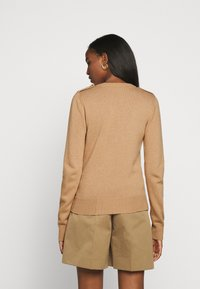 Mulberry - NANCIE CREW NECK JUMPER - Svetr - dark beige - 2