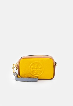 PERRY BOMBE COLOR BLOCK MINI BAG - Taška s příčným popruhem - goldfinch