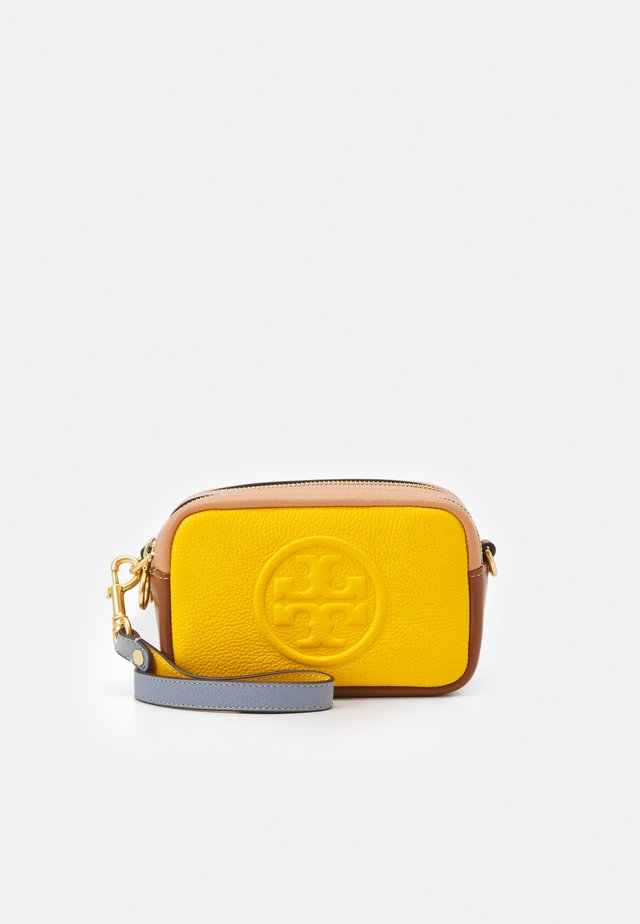 PERRY BOMBE COLOR BLOCK MINI BAG - Sac bandoulière - goldfinch
