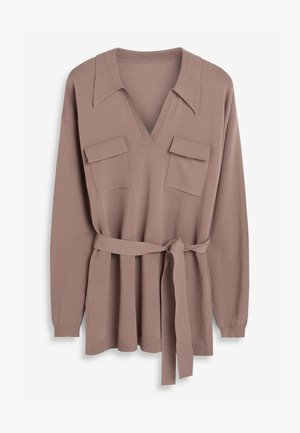 UTILITY CO-ORD  - Jumper - taupe