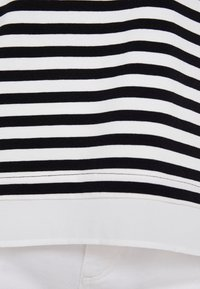 Esprit Collection - STRIPED - Long sleeved top - black - 4
