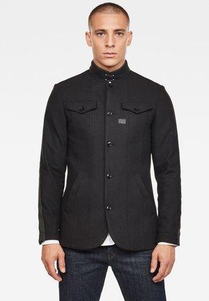 CORMAC - Short coat - dk black