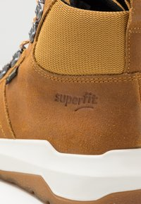 Superfit - SPACE - Šněrovací kotníkové boty - gelb - 5