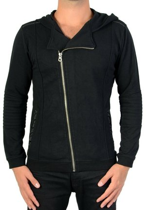 JAPAN RAGS HARLO - veste en sweat zippée - black