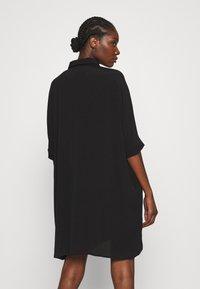 Zign - Skjortklänning - black - 2