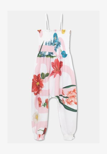 PANT_TOMILLO - Jumpsuit - white
