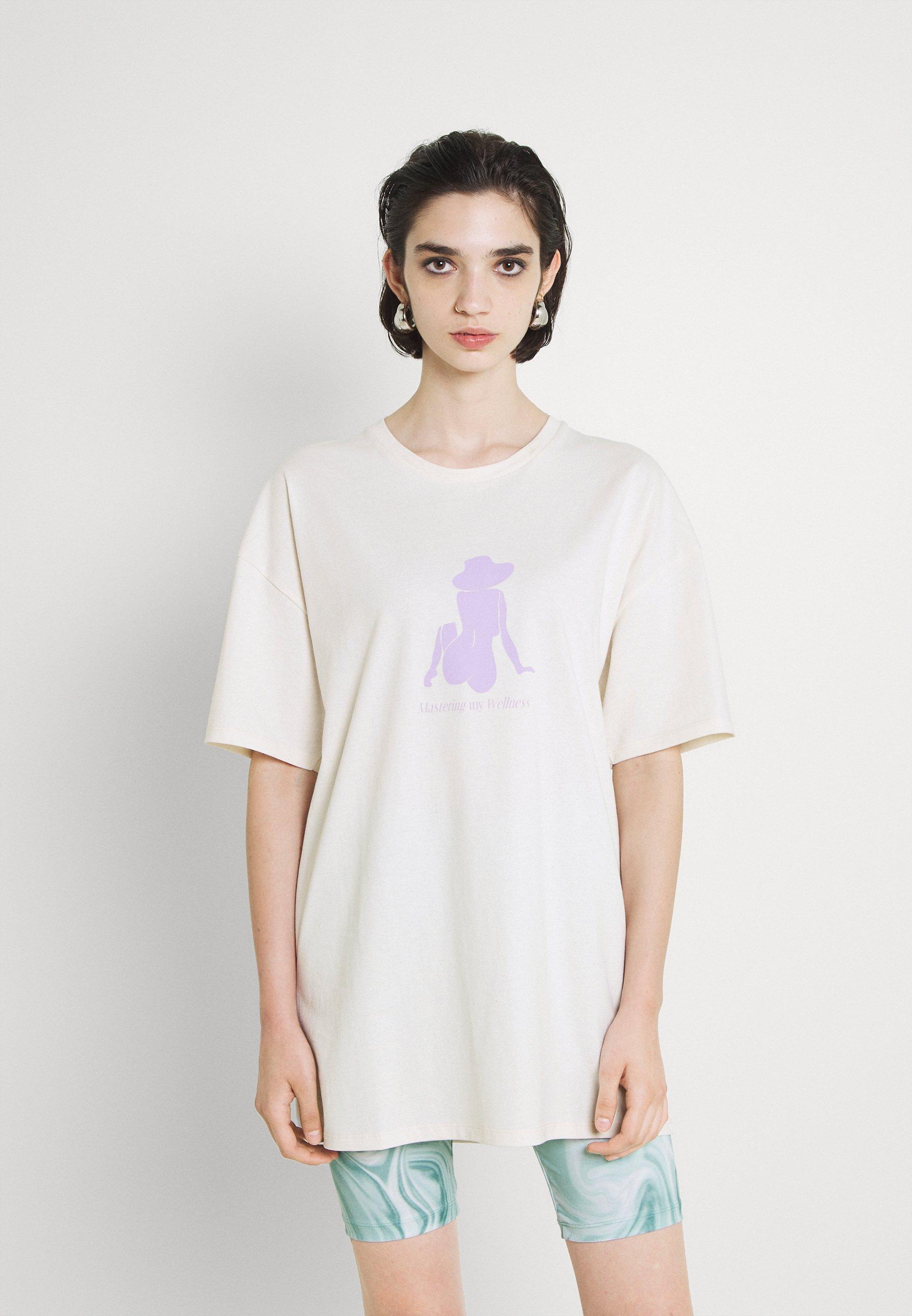 Damen WELLNESS PRINT OVERSIZED - T-Shirt print