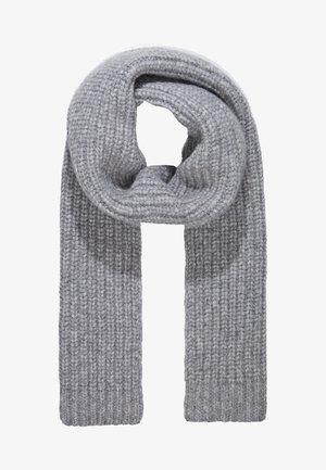 SCARF - Šála - grey heather melange