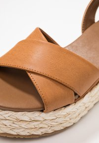 Anna Field - Platform sandals - cognac - 2