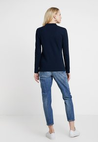 Tommy Hilfiger - HERITAGE LONG SLEEVE SLIM  - Polotričko - midnight - 2