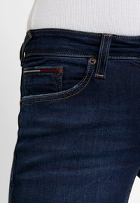 Tommy Jeans - LOW RISE - Jeans Skinny Fit - hawaii dark blue stretch - 3