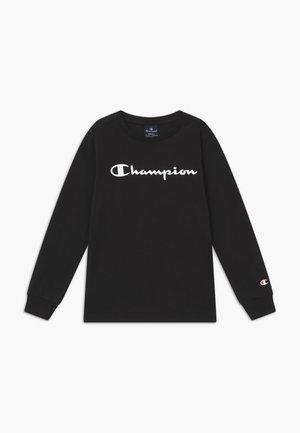 LEGACY AMERICAN CLASSICS LONG SLEEVE - Langærmede T-shirts - black