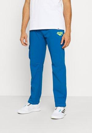 JARVIS PANTS - Kalhoty - blue