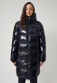 Napapijri - A-LOYLY LONG - Winter coat - blu marine - 0
