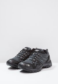 The North Face - HEDGEHOG FASTPACK GTX - Hiking shoes - black/high rise grey - 2