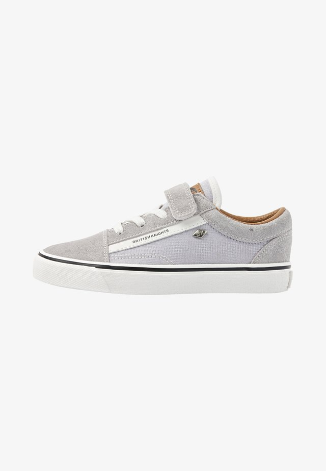 Sneakers basse - grey/cognac