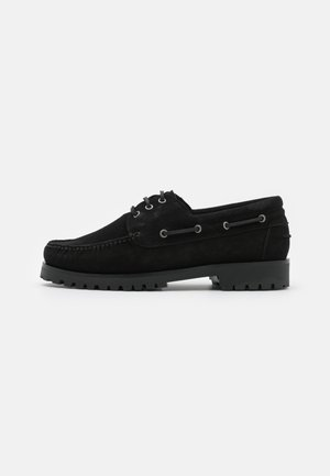 BENTO  - Boat shoes - black