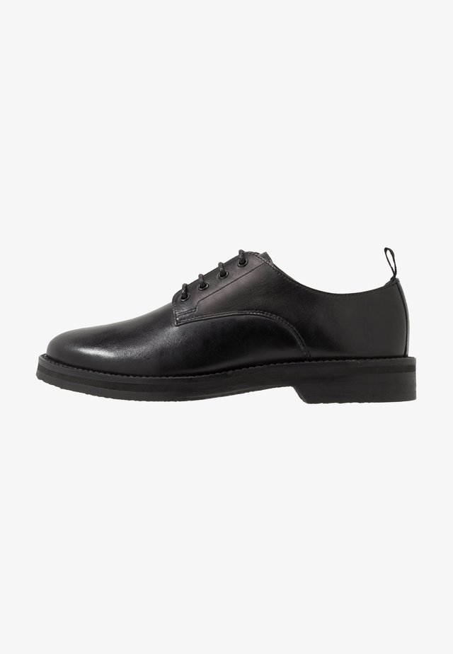 JAZZ DERBY - Derbies & Richelieus - black