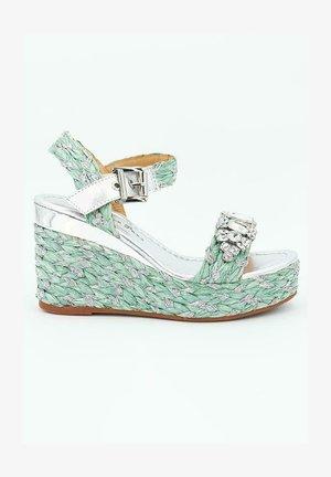 DACCA - High heeled sandals - green