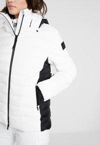 Bogner Fire + Ice - CANDRA - Kurtka narciarska - white/black - 5