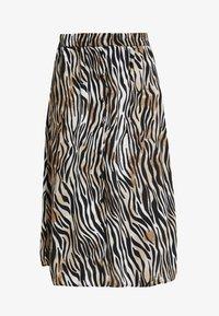 Vero Moda - VMSISSEL BUTTON SLIT SKIRT - Maxi skirt - birch - 3