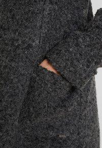 TOM TAILOR DENIM - COAT - Kort kåpe / frakk - light tarmac grey melange - 5