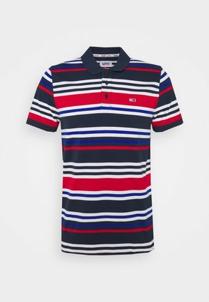 SEASONAL STRIPE - Polo - blue