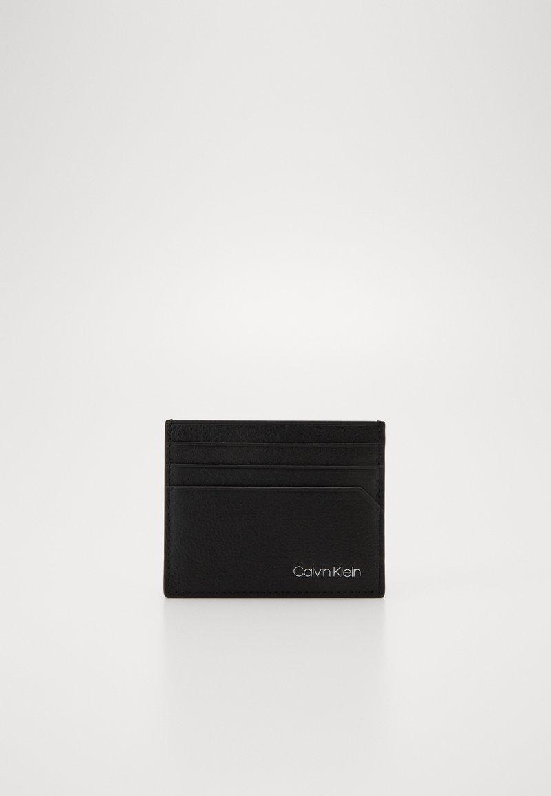 Calvin Klein - POCKET CARD HOLDER - Wallet - black