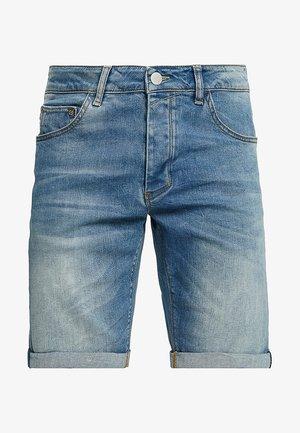 JASON - Denim shorts - blue denim
