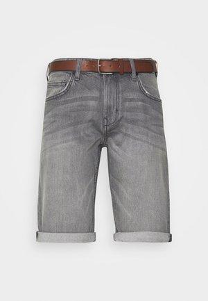 Szorty jeansowe - grey light wash