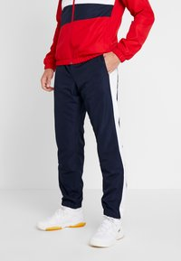 Lacoste Sport - TRACKSUIT - Träningsset - red/white/navy blue - 3