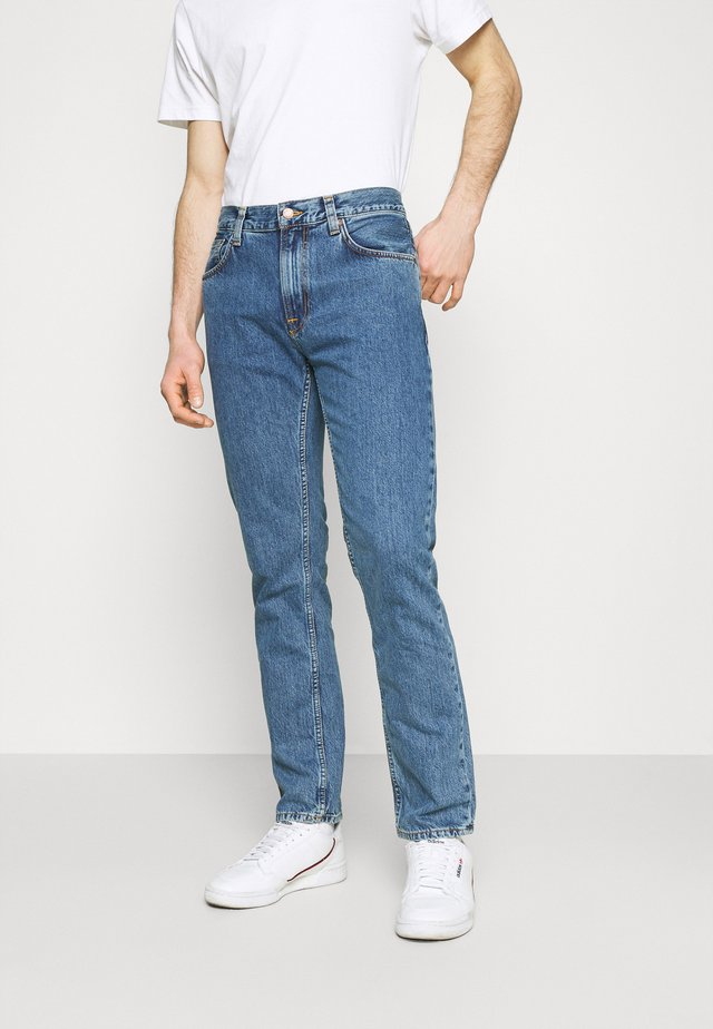 GRITTY JACKSON - Jeans a sigaretta - friendly blue
