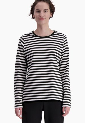 MARI - Long sleeved top - white, black